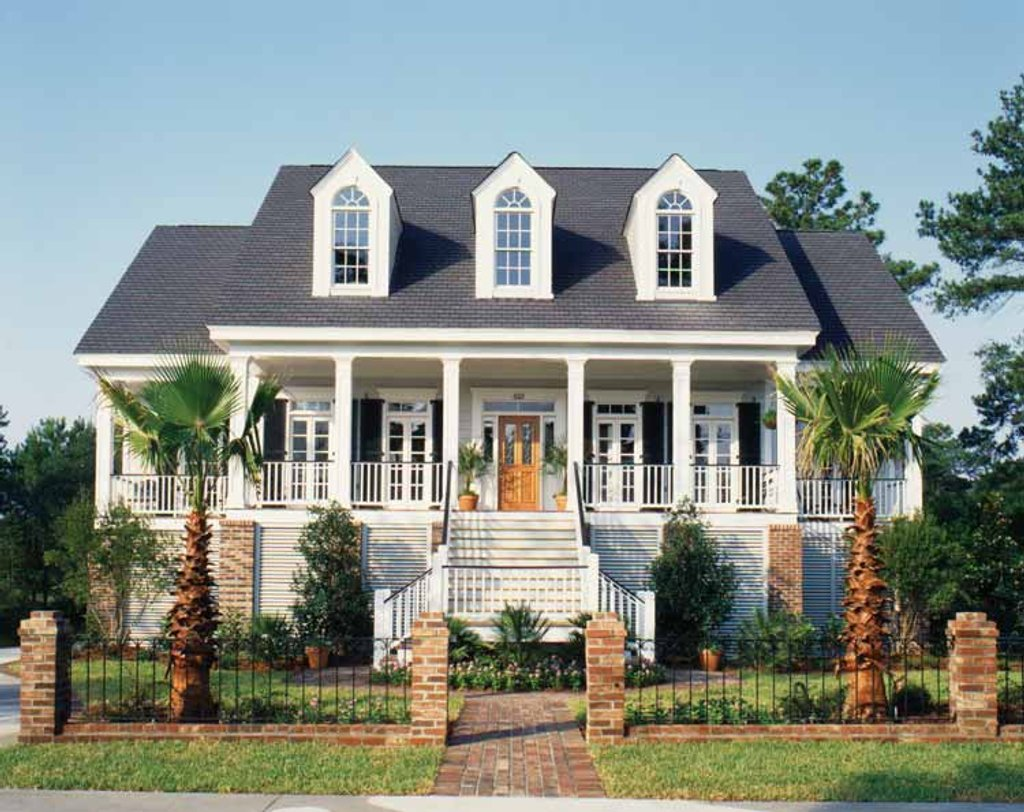 Country Style House Plan  Baths  Sq Ft Plan   Eplans Com