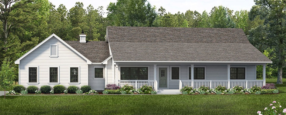Ranch House Plan #47-1023