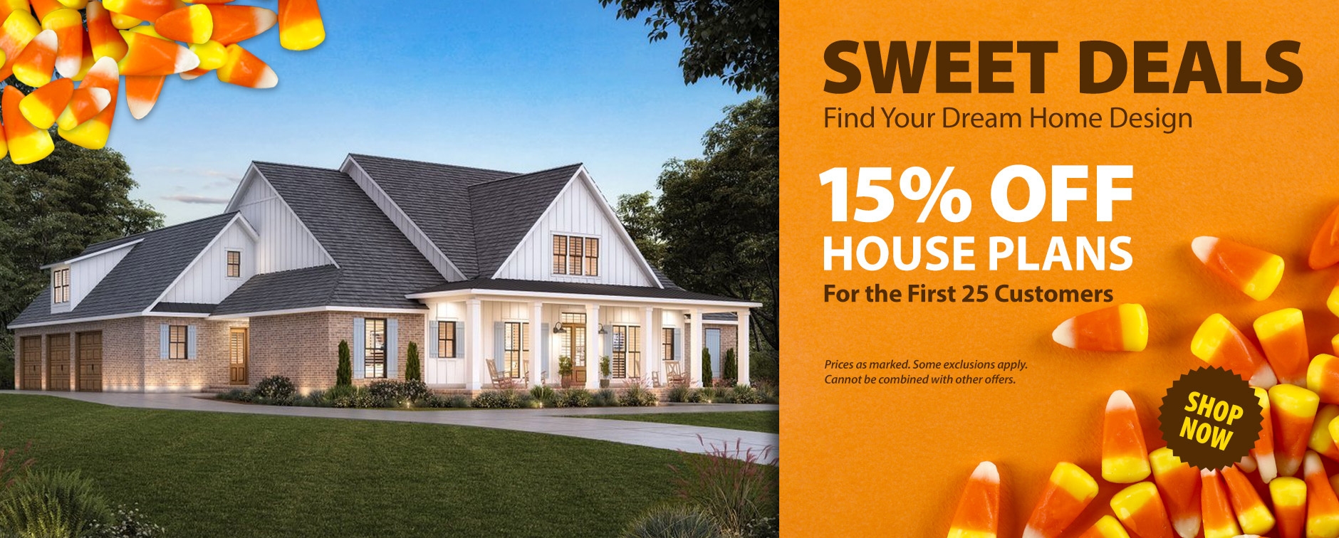 15% Off Thousands of Dream House Plans Today