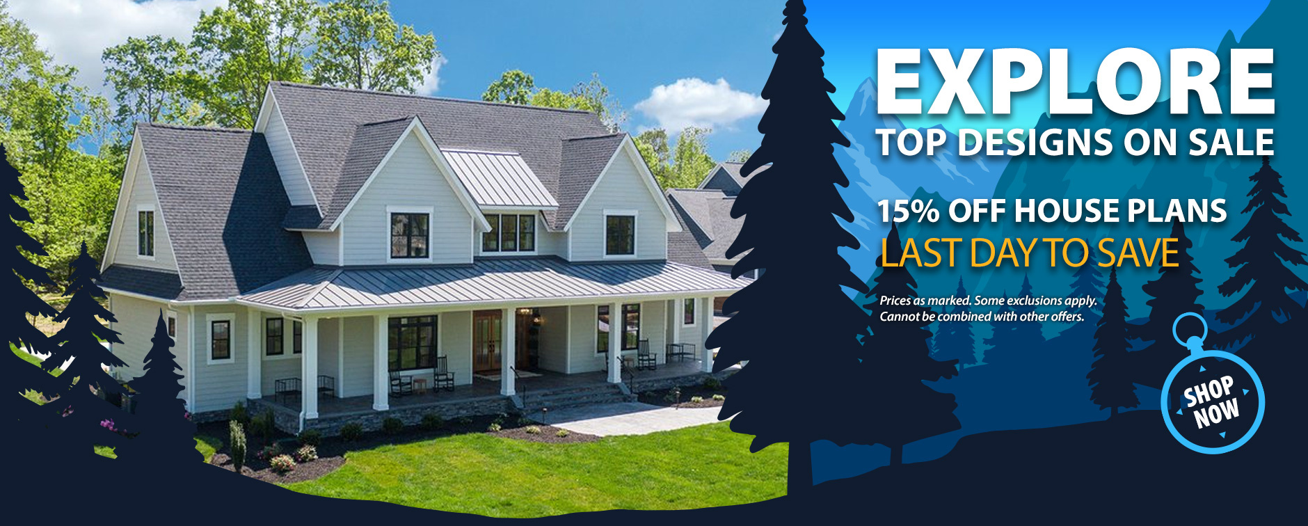 House Plan Sale 15% Off Last Day
