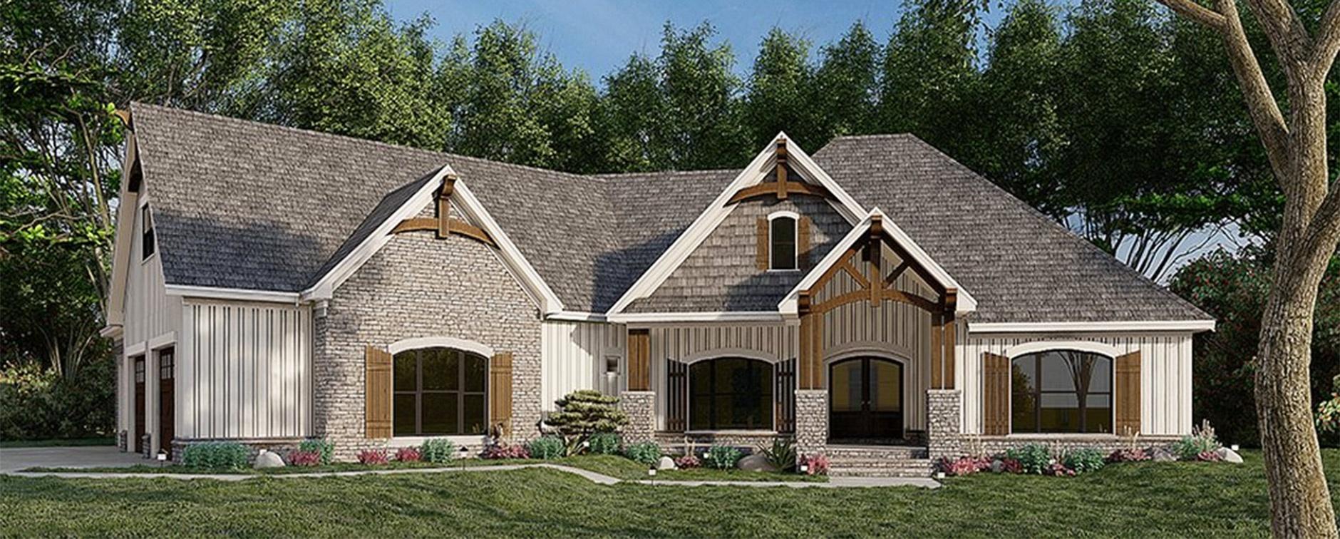 Explore Craftsman Ranch House Plans