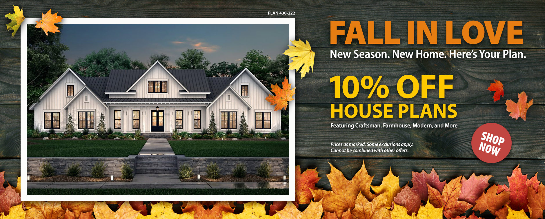 Take 10% Off House Plans Today