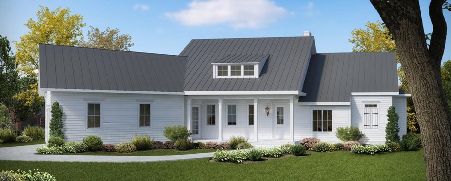 Modern Farmhouse Plan 54-384