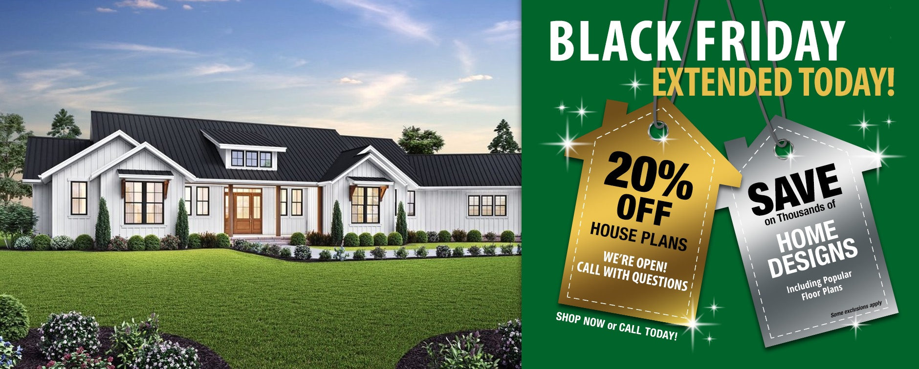 Home Plan Sale 20% Off House Designs