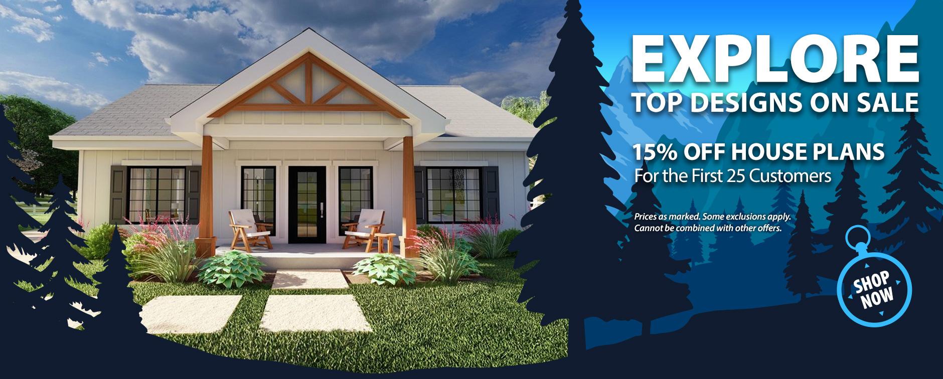 Home Builders: Enjoy 15% Off Floor Plans Today