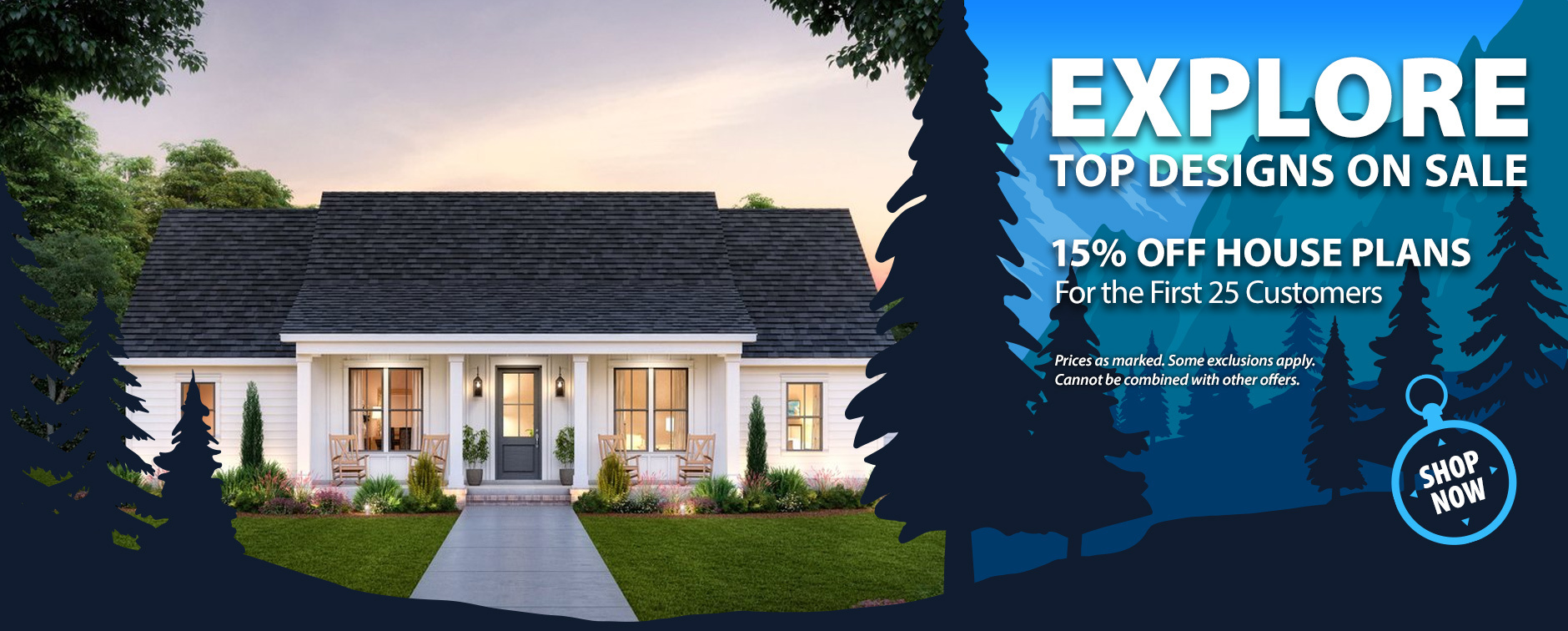 Home Plan Sale 15% Off Layouts