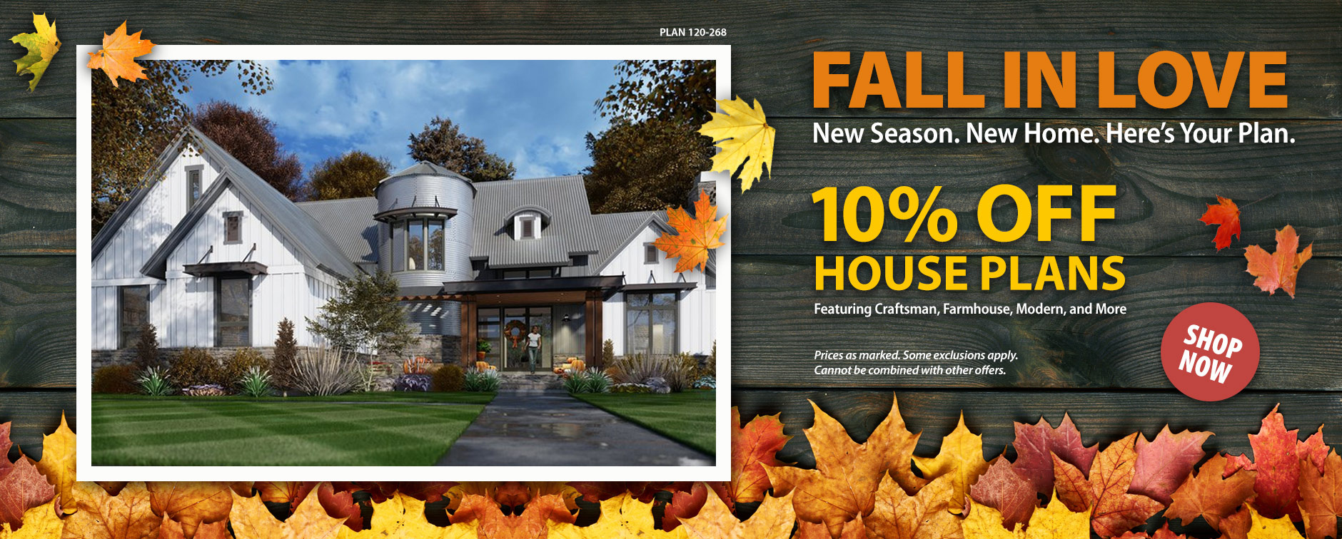 10% Off Thousands of Dream House Plans