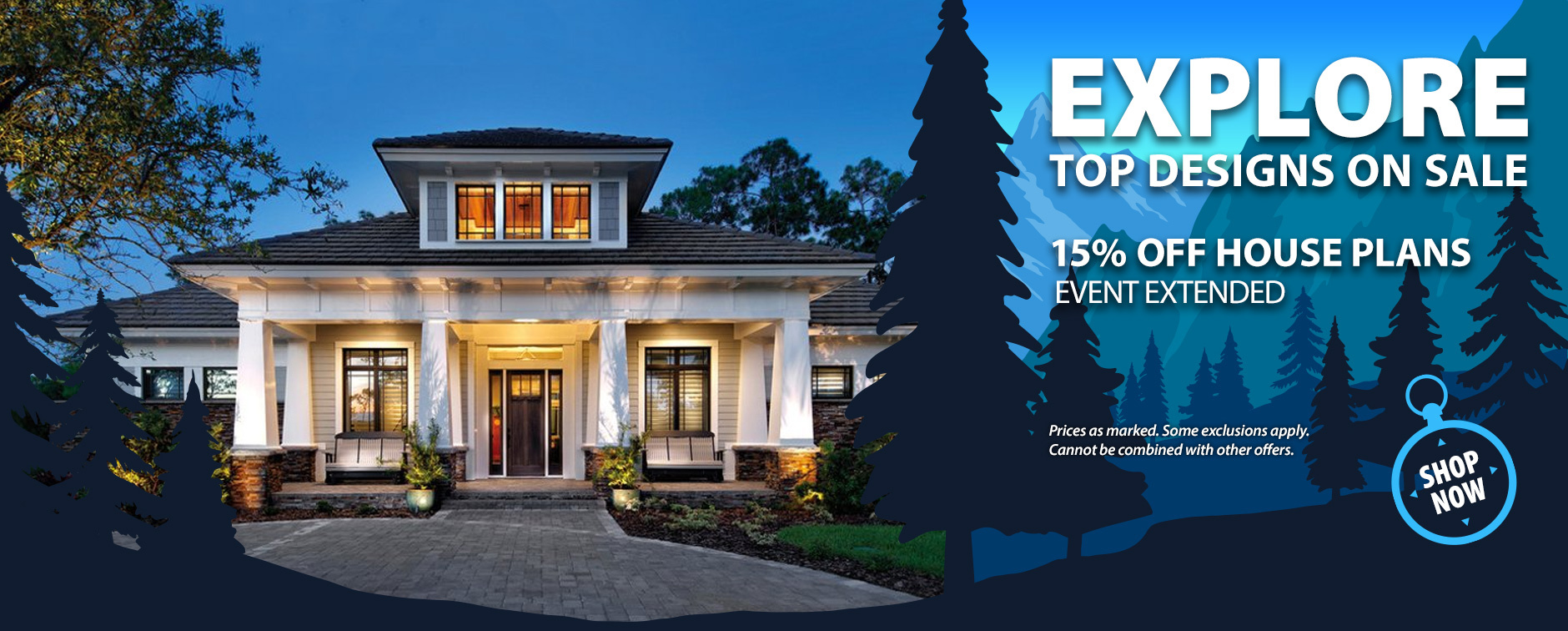 Get 15% Off Thousands of House Designs