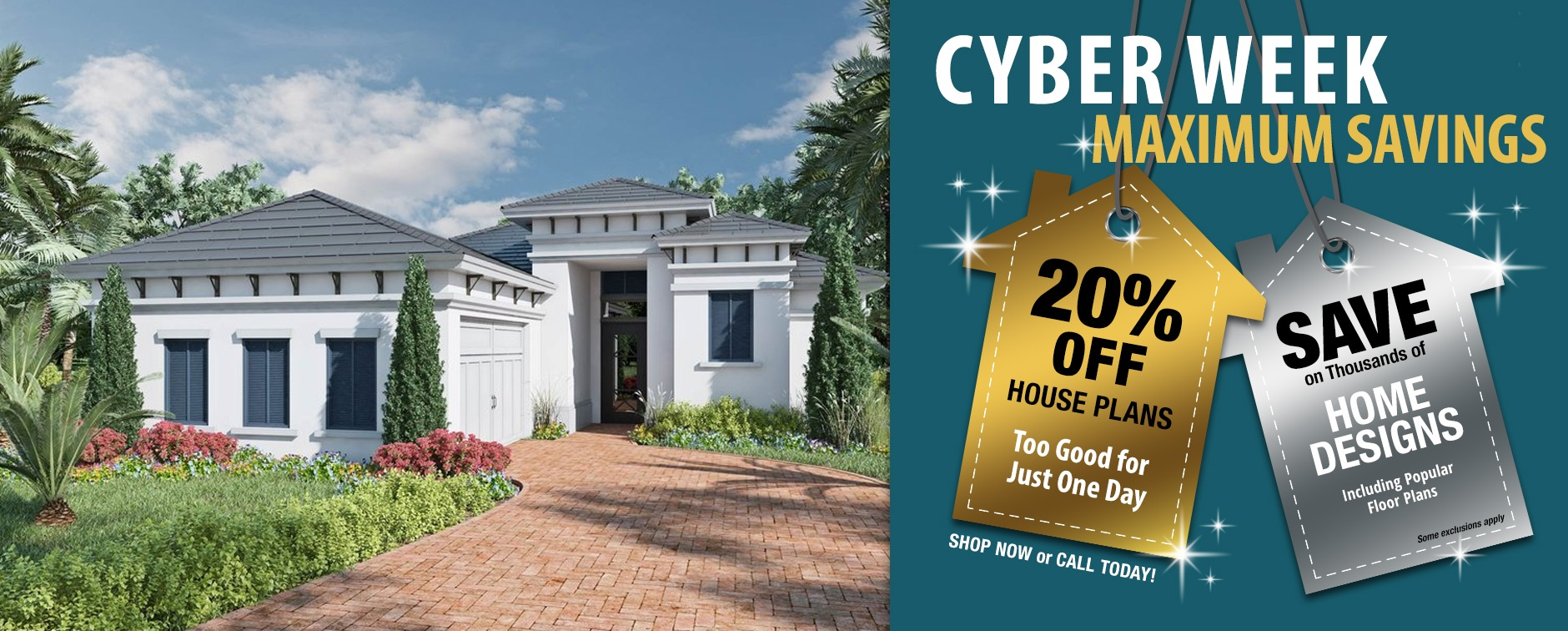 Dream House Plan Sale 20% Off