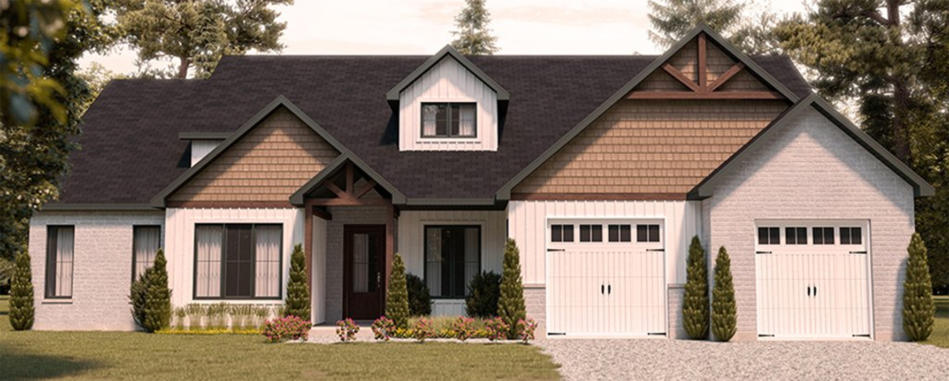 Craftsman House Plans and Floor Plans
