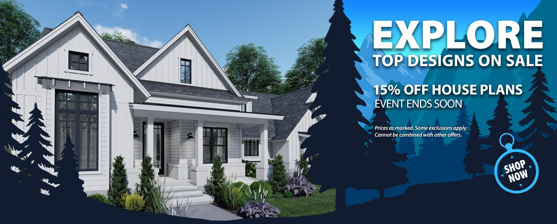 Take 15% Off House Plans Today