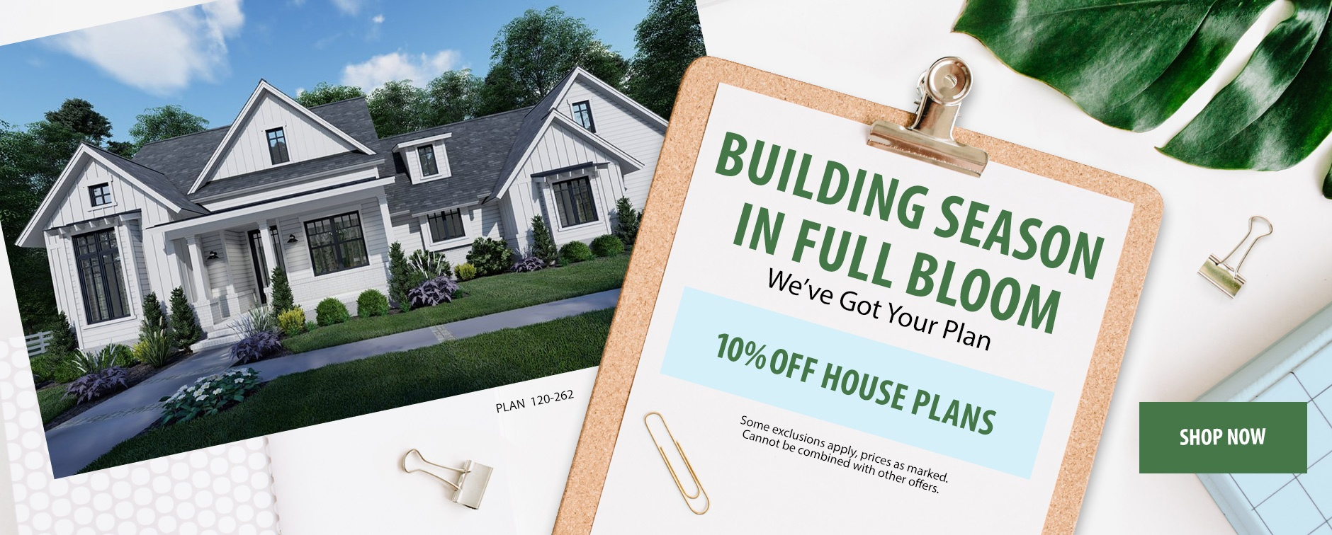 Builders: Enjoy 10% Off Floor Plans