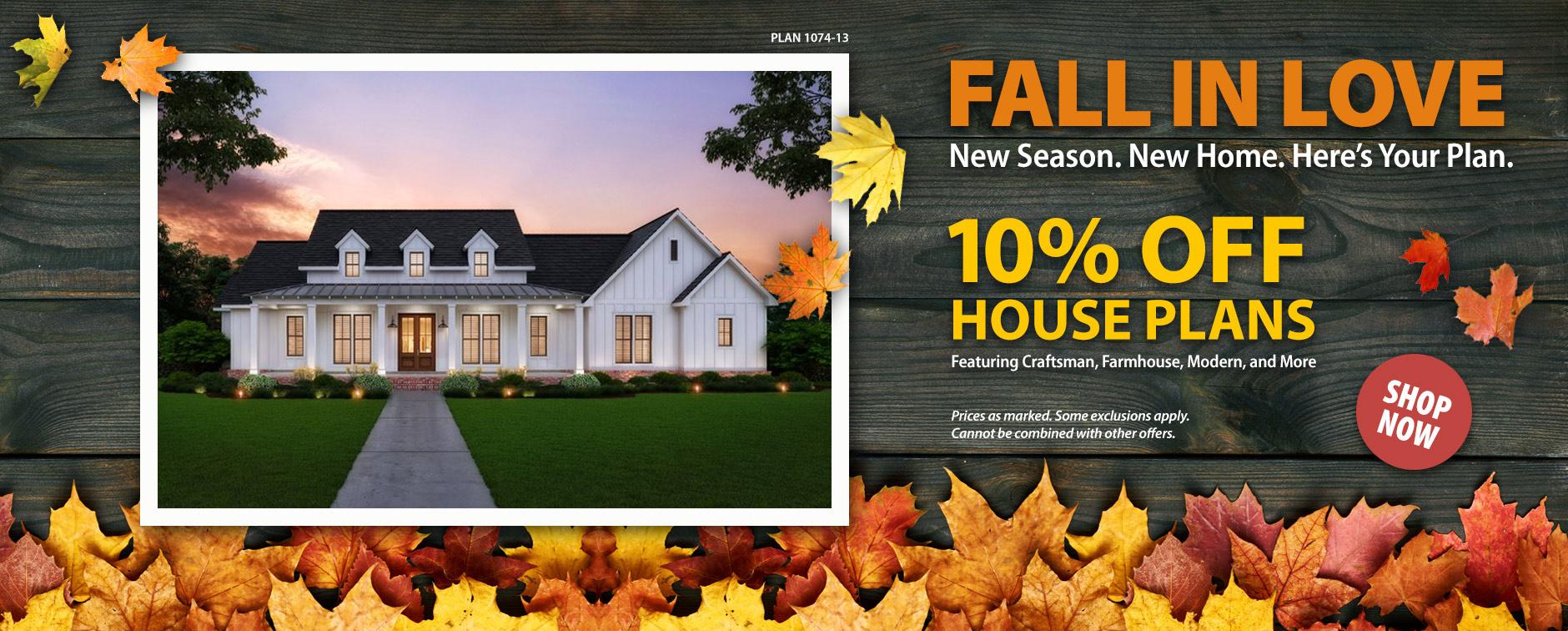 Home Builders: Enjoy 10% Off Floor Plans