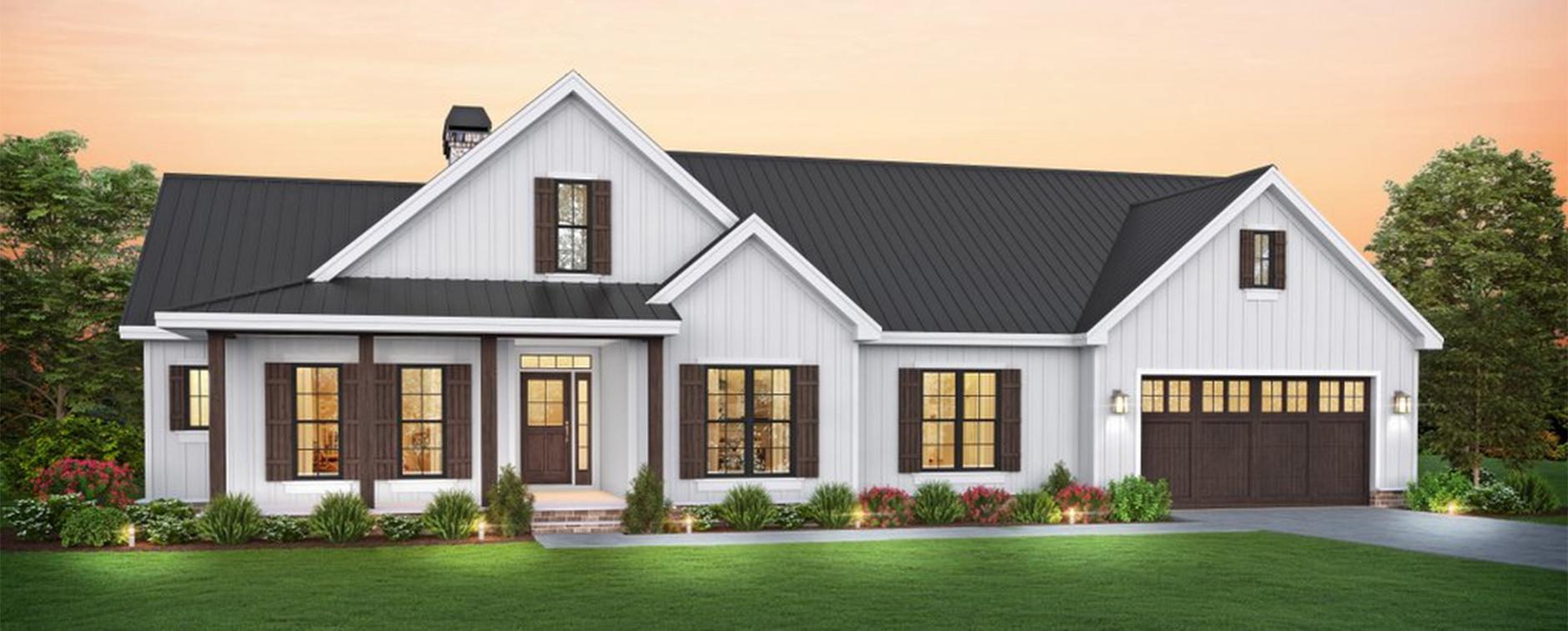 Trending: 1 Story Farmhouse Plans