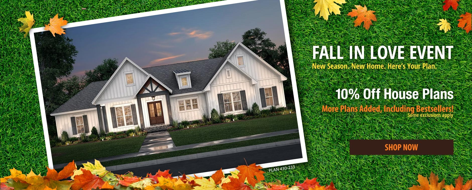 More Plans Added to Home Plan Sale 10% Off