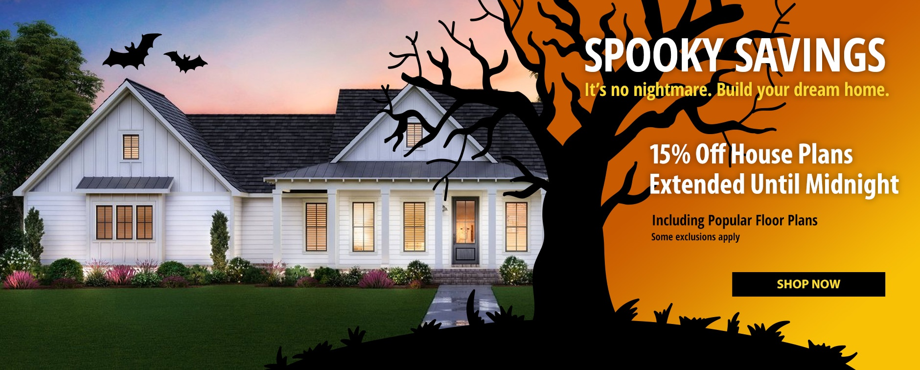 Builder House Plan Sale 15% Off Last Day