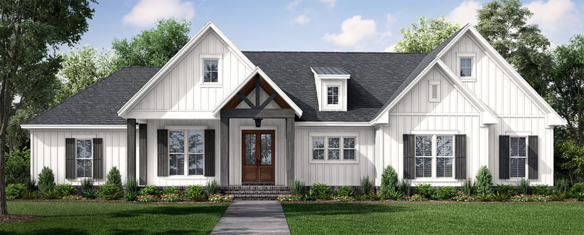 New One Story House Plan 430-233