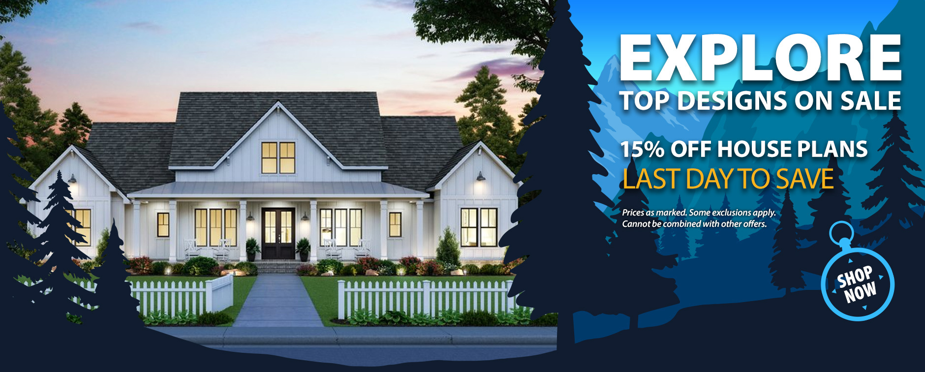 15% Off Thousands of Dream House Plans Ends Tonight