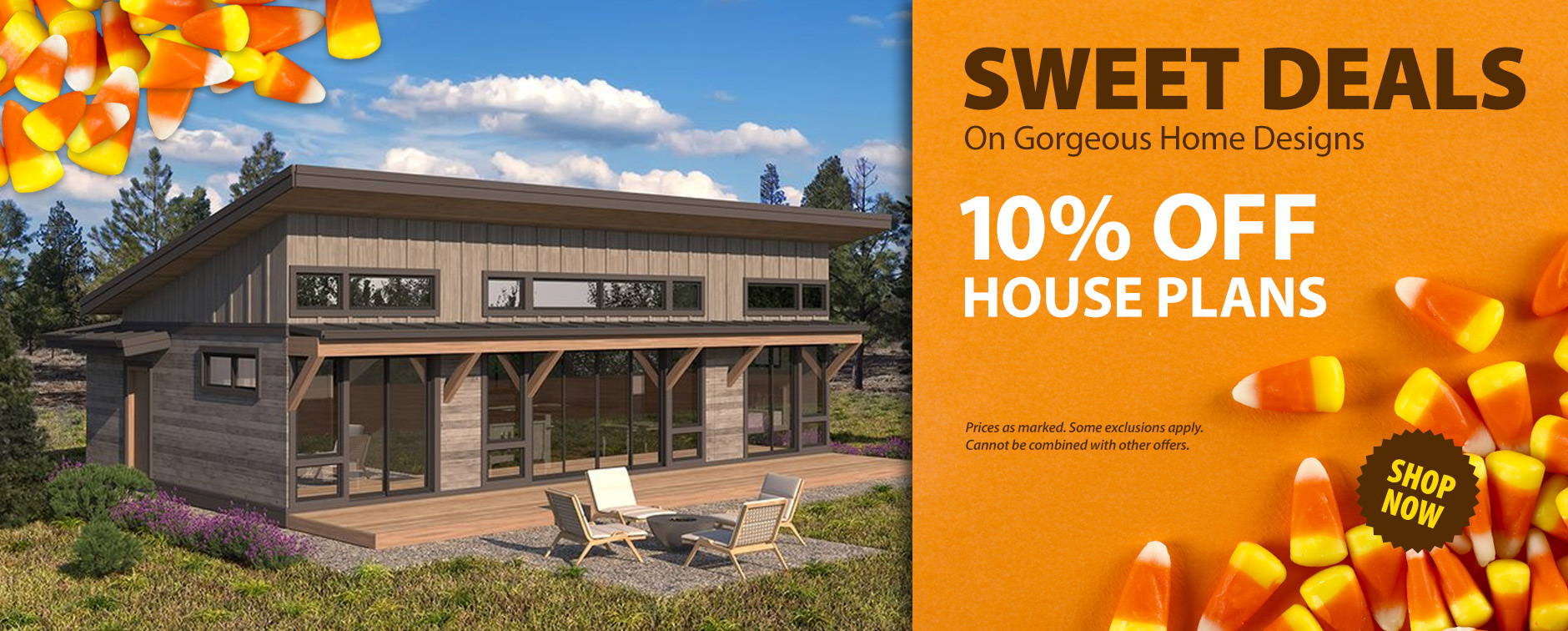 Get 10% Off Thousands of House Designs