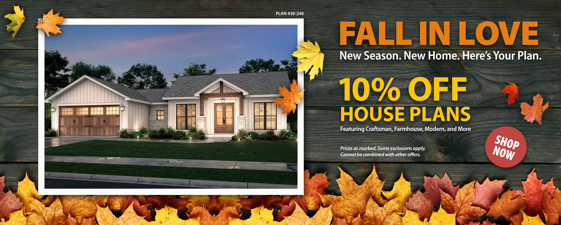 House Plan Sale 10% Off Layouts