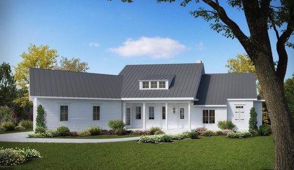 How I Built My Modern Farmhouse Plan in Arkansas