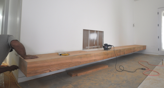 Cantilevered Bench & Hearth: Project Update 508-1