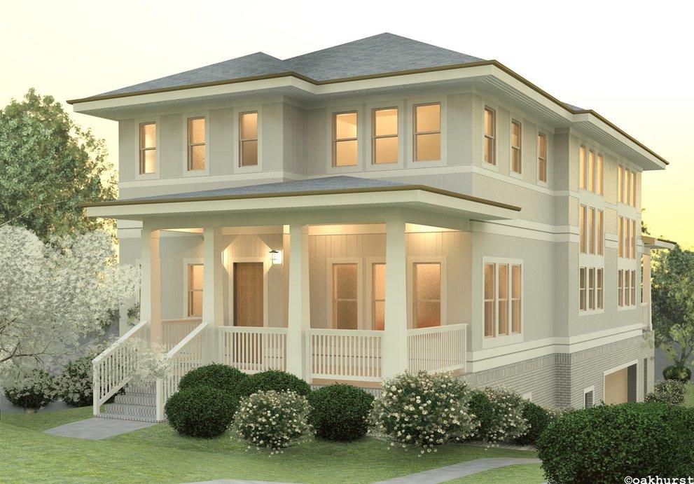 New Craftsman Plans by Oakhurst Houseplans Blog - Houseplans.com on