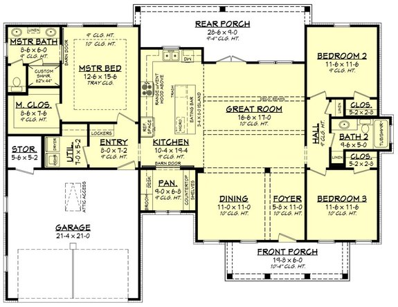 The Est Type Of House To Build, Most Popular One Level House Plans