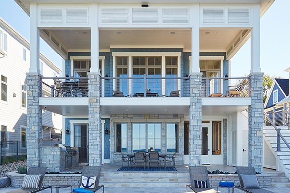 Cool Lakefront House Designs for Summer