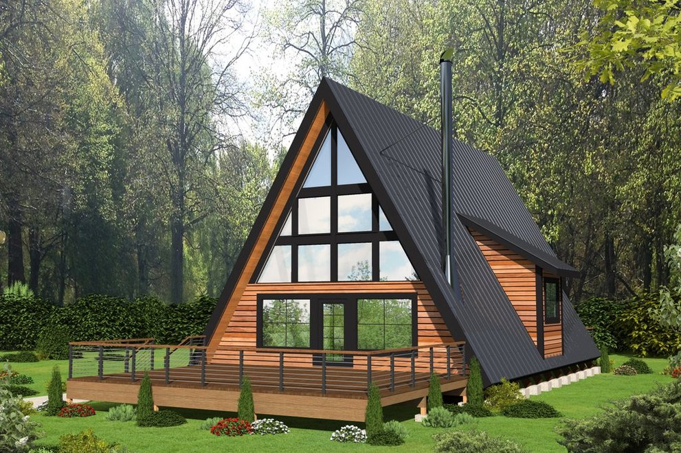 Amazing A Frame House Plans