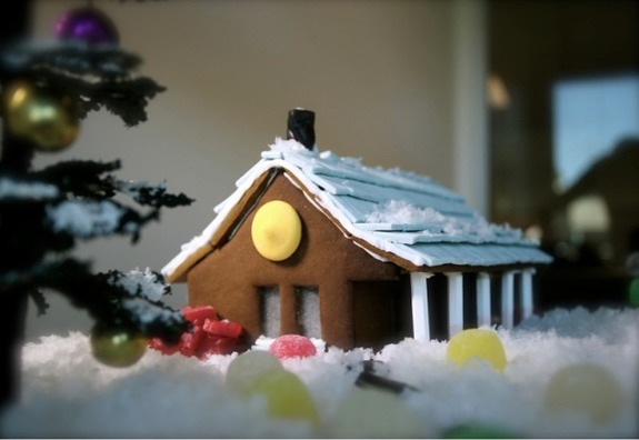 Build Our Gingerbread Cabin