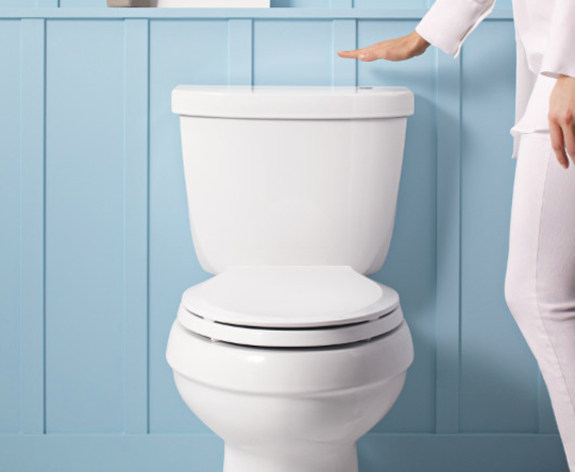 A Touchless Toilet?