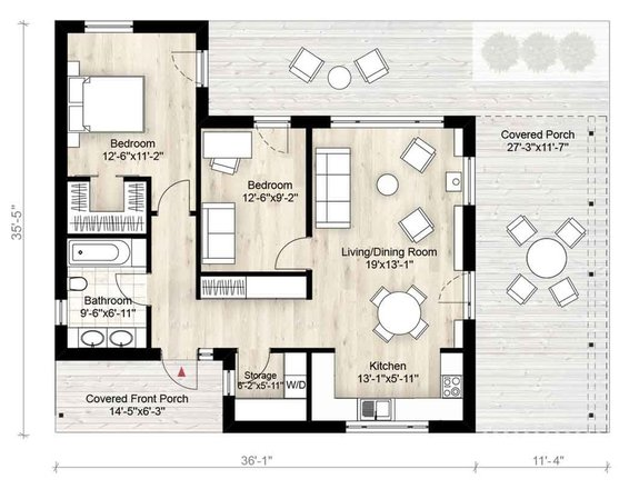 Tiny House Plans That Are Big On Style