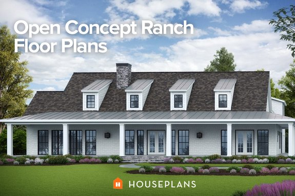 Open Concept Ranch Floor Plans