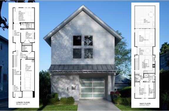 Designs for Narrow Lots