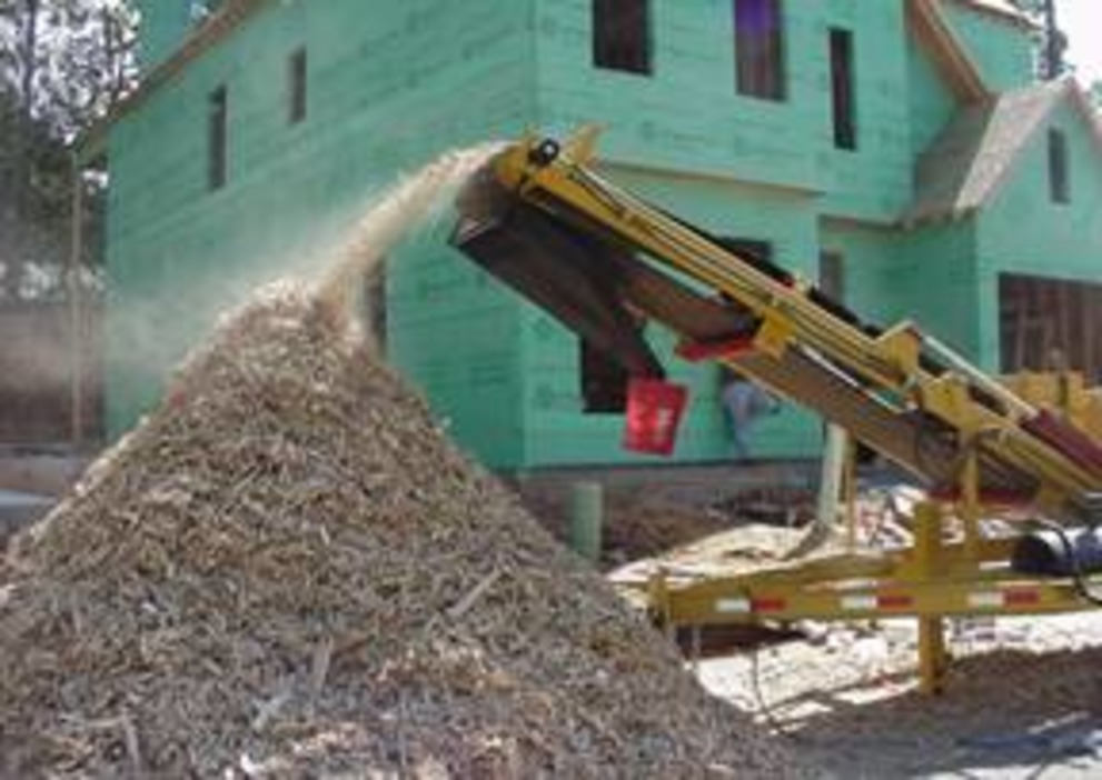 Recycle Construction Waste As You Build