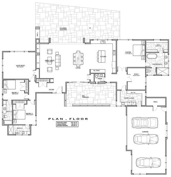 Cool Modern Open Floor House Plans Blog Eplans Com