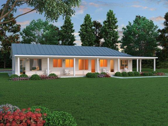Open Concept Ranch Floor Plans