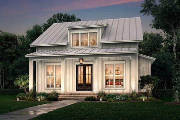 Stylish One Story House Plans