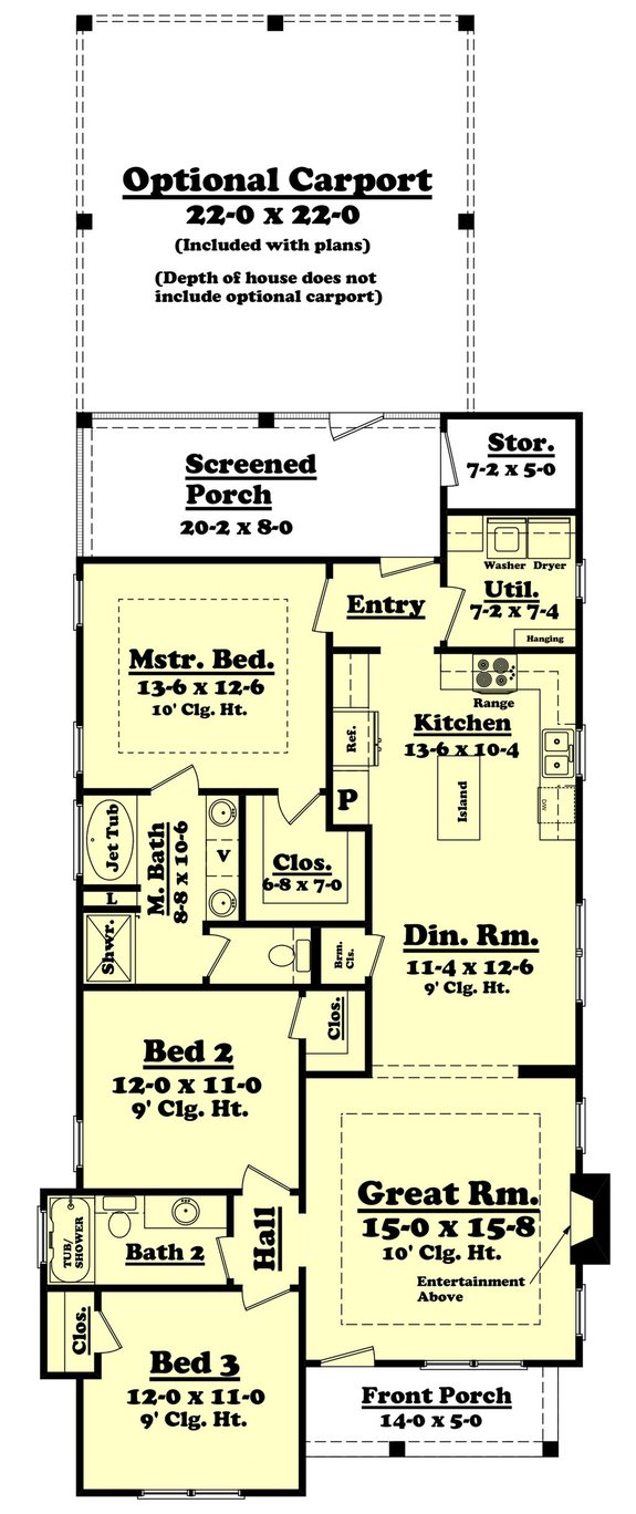 House Plan Design - 10 More Small, Simple, and Cheap House Plans