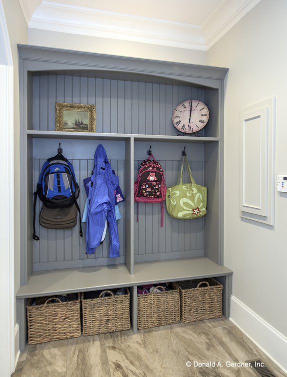 Dream House Plan - Clutter-Free: House Designs with Mudrooms & More
