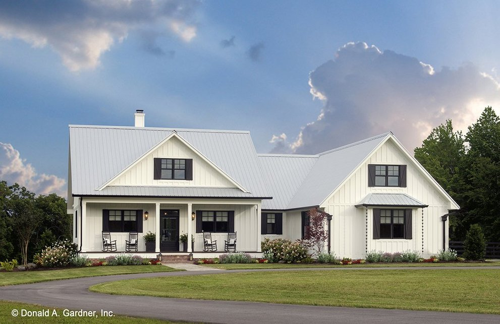 Small Farmhouse Plans Fit For Fall Blog Eplans Com