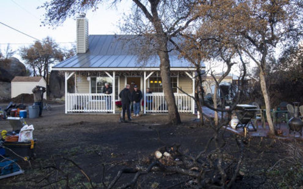 New Home After A Devastating Fire