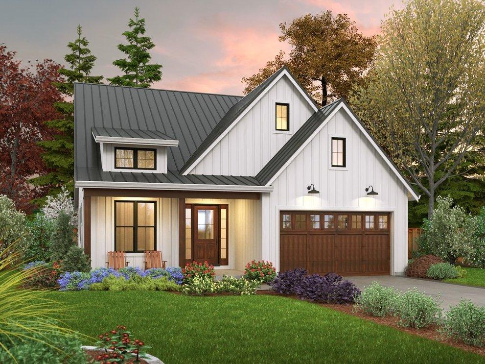 Trend Alert: Small Farmhouse Plans