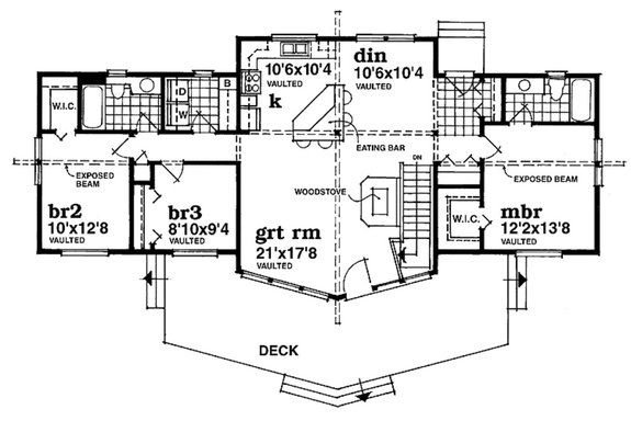 Floor Plan and Home Plan Designs for Horror/Halloween Lovers