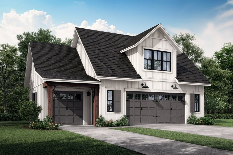 Garage Apartment Plans: Farmhouse, Modern, and More