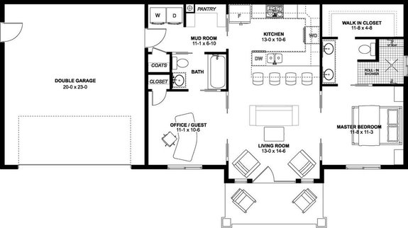 Our Top 1,000 Sq. Ft. House Plans