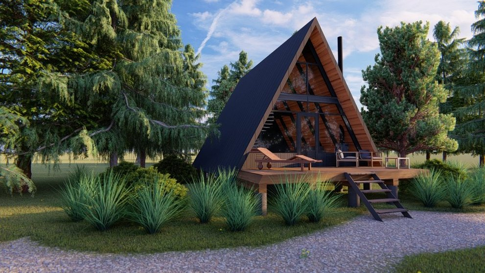 Cozy Winter Cabins: A Frame House Plans and More