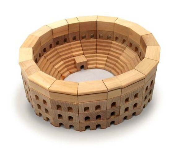 Building Block Colosseum & Other Toy Blocks