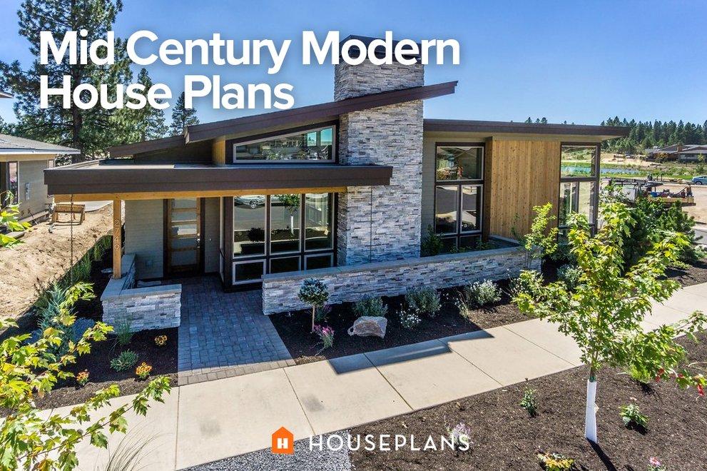 Mid Century Modern House Plans Houseplans Blog Houseplans Com